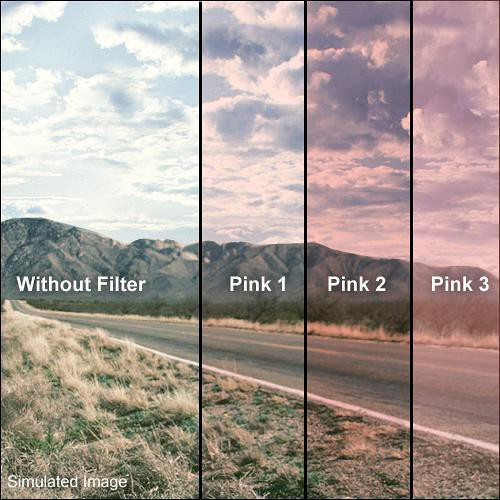 Formatt Hitech 48mm Solid Pink 1 Filter