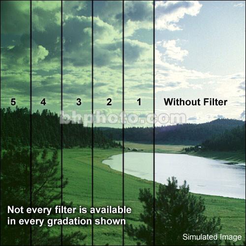 """Formatt Hitech 4x5.65"""" Solid Color Green  1 Schott-Desag B270 Crown Optical Glass Filter"""