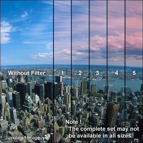 "Formatt Hitech 4 x 5.65"" Color Graduated Pink 1 Filter"