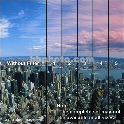 "Formatt Hitech 4 x 5.65"" Color Graduated Pink 2 Filter"