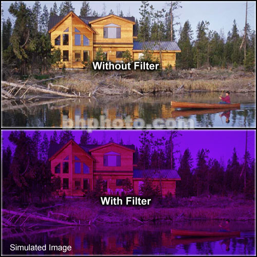 "Formatt Hitech 4x5.65"" Solid Color Grape  3 Glass Filter"