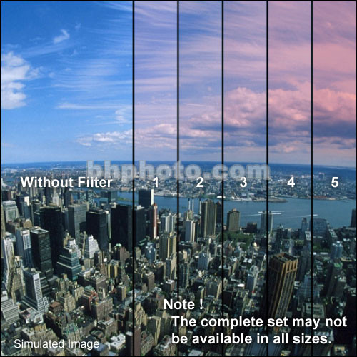 "Formatt Hitech 4 x 5.65"" Color Graduated Pink 3 Filter"
