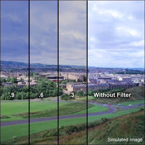 """Formatt Hitech 4 x 5.65"""" Combination Light Balancing 81EF/ND 1.2 Glass Filter"""
