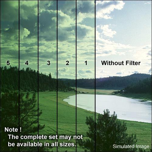 "Formatt Hitech 4x4"" Solid Color Green 1 Glass Filter"