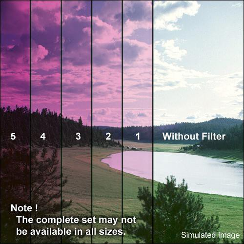 """Formatt Hitech 4x4"""" Solid Color Magenta 1 Glass Filter"""