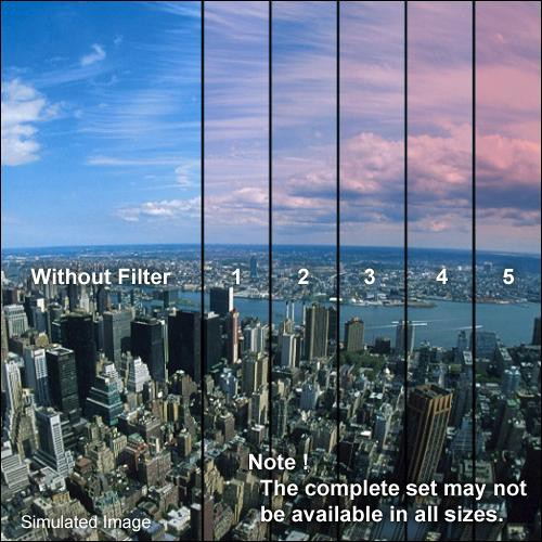 "Formatt Hitech 4 x 4"" Color Graduated Pink 1 Filter"