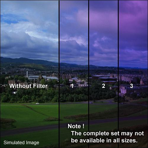 "Formatt Hitech 4x4"" Solid Color Twilight 1 Glass Filter"