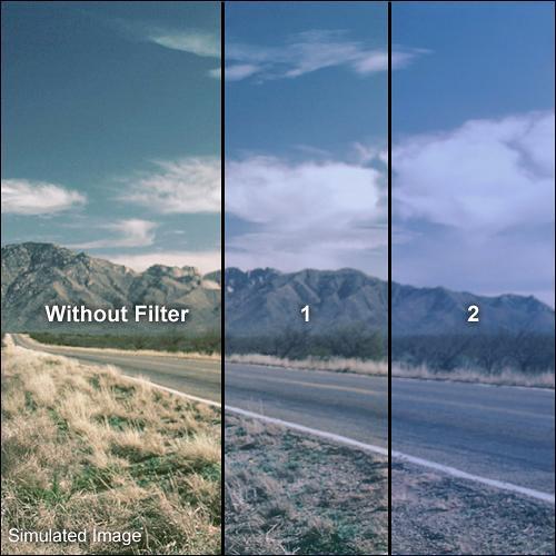 "Formatt Hitech Solid Color Cool Blue Filter (4 x 4"")"