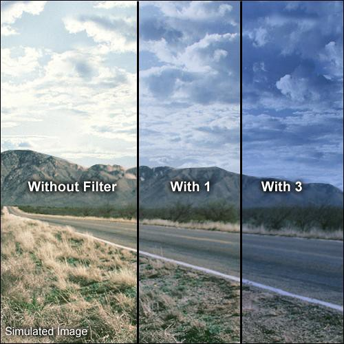 "Formatt Hitech 4x4"" Solid Color Blue 3 Glass Filter"