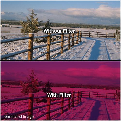 "Formatt Hitech 4 x 4"" Solid Cranberry Filter"