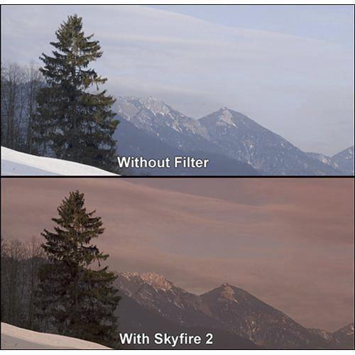 """Formatt Hitech 4 x 4"""" Graduated Skyfire 3 Filter"""