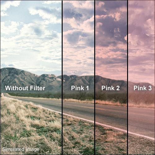 """Formatt Hitech Solid Pink Filter (4 x 4"""")"""