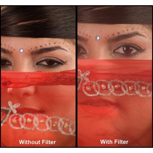 """Formatt Hitech 4.5"""" Soft Tone Pink 1 HD Glass Filter"""