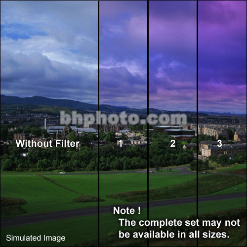 "Formatt Hitech Color Graduated Twilight   Filter (4.5"")"