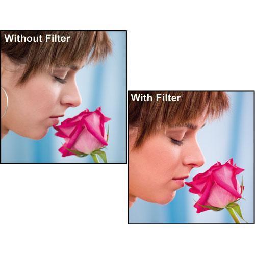 "Formatt Hitech 4.5"" Skin Tone 1 Enhancing Water White Glass Filter"