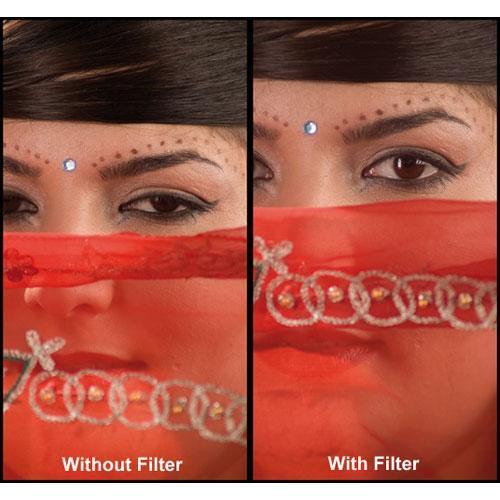 """Formatt Hitech 4.5"""" Soft Tone Pink 2 HD Glass Filter"""