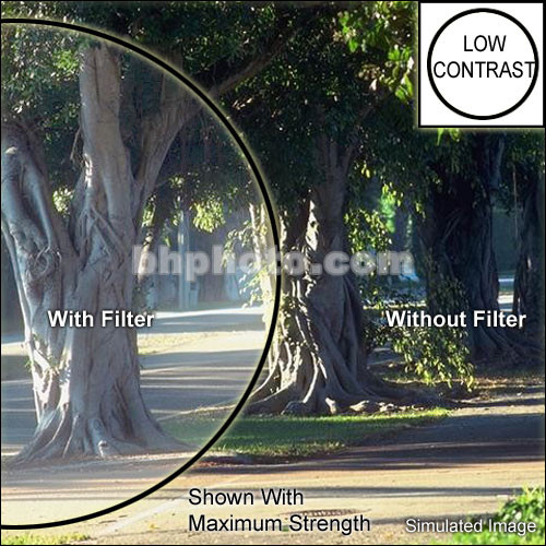 "Formatt Hitech 4.5"" Round Low Contrast 1/2 Filter"