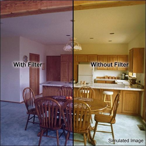"Formatt Hitech 4 x 4"" CC 40B Blue Color Compensating Filter"