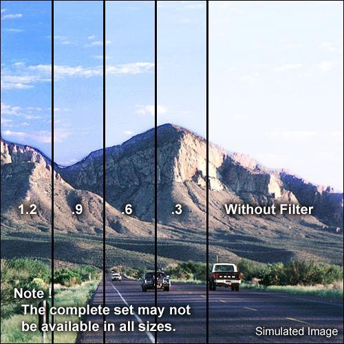 "Formatt Hitech 4 x 4"" Hard-Edge 0.9 Graduated Neutral Density Glass Filter"