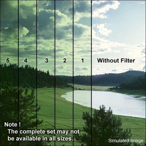 Formatt Hitech 58mm Solid Color Green 1 Glass Filter