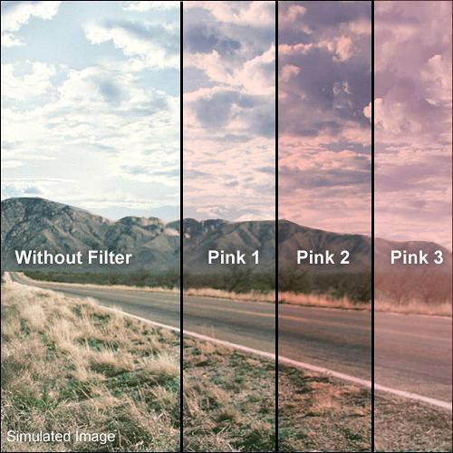 Formatt Hitech 58mm Solid Pink 1 Filter