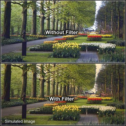 Formatt Hitech 58mm Solid Tangerine 1 Filter