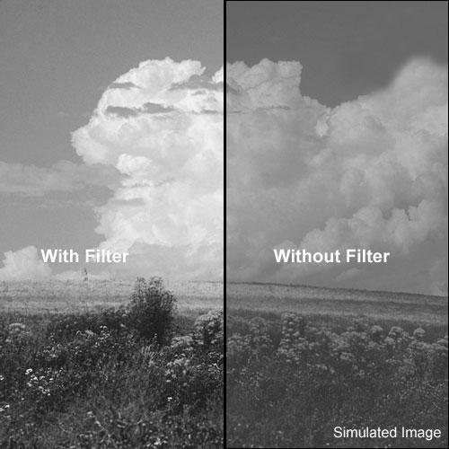 Formatt Hitech 58mm Yellow-Green 13 Glass Filter for Black & White Film
