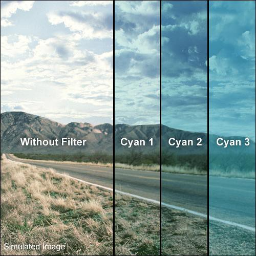 "Formatt Hitech Solid Cyan Filter (5 x 5"")"