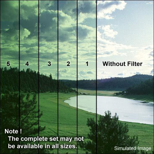 "Formatt Hitech 5x5"" Green 2 Schott-Desag B270 Crown Optical Glass Filter for Black & White Film"