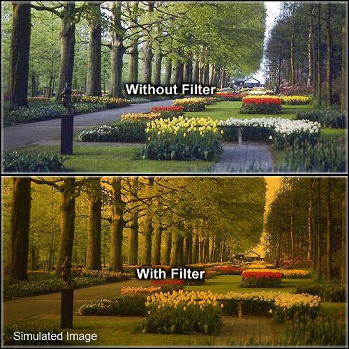 Formatt Hitech 62mm Solid Tangerine 3 Filter