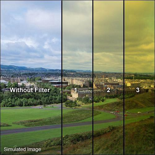 Formatt Hitech 62mm Solid Color Yellow 3 Filter