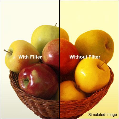 Formatt Hitech 80B Color Conversion Filter (62mm)