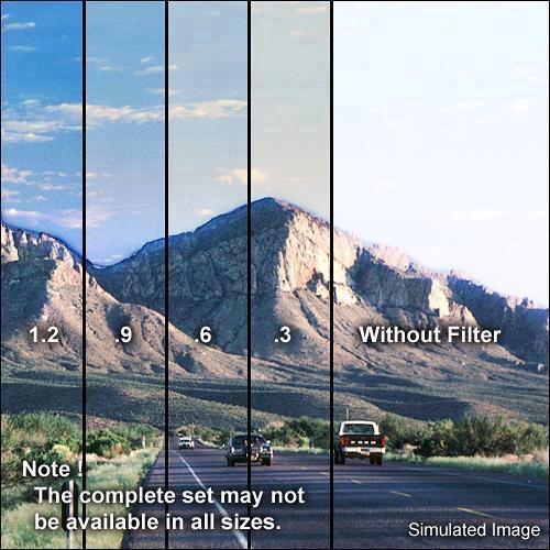 "Formatt Hitech 6.6 x 6.6"" Combination 85 Color Conversion/Graduated Neutral Density (ND) 1.2 Filter"