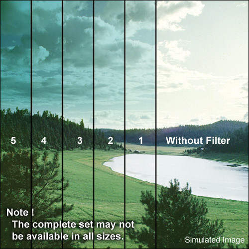 """Formatt Hitech Blender Cyan Filter (6 x 4"""")"""