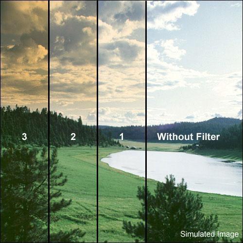 "Formatt Hitech 6 x 4"" Color Graduated Autumn 3 Filter"