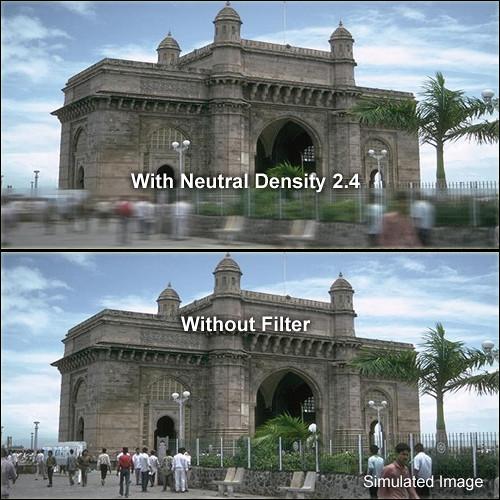 """Formatt Hitech 6 x 4"""" Graduated Neutral Density 2.4 Filter"""