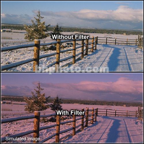 "Formatt Hitech 6.6 x 6.6"" Solid Cranberry Filter"