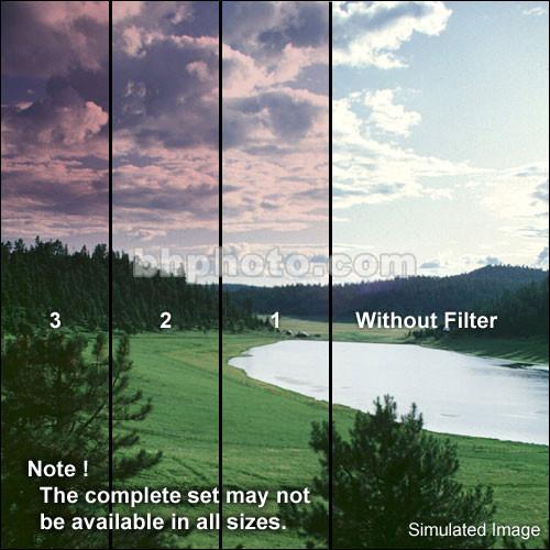 "Formatt Hitech 6.6x6.6"" Color Graduated Cranberry Glass 1 Filter - Hard  Edge"