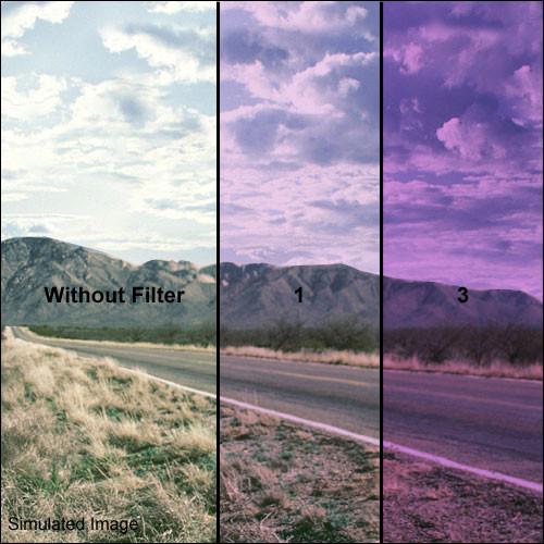 "Formatt Hitech 6.6x6.6"" Solid Color Lavender  1 Glass Filter"