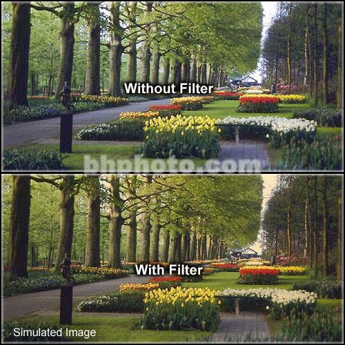 "Formatt Hitech 6.6x6.6"" Solid Color Tangerine  1 Glass Filter"