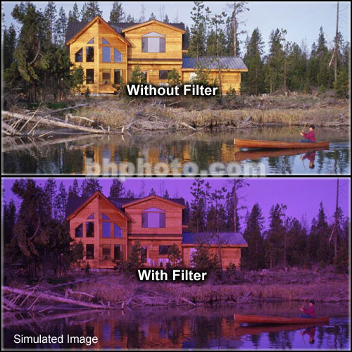 "Formatt Hitech 6.6x6.6"" Solid Color Grape  2 Glass Filter"