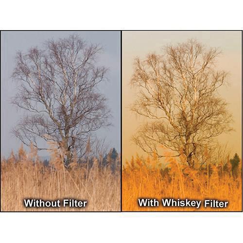"Formatt Hitech 6.6x6.6"" Solid Color Whiskey 2 Schott-Desag B270 Crown Optical Glass Filter"