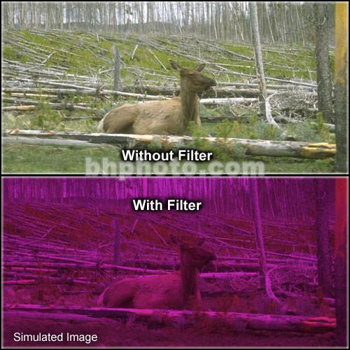 "Formatt Hitech 6.6x6.6"" Solid Color Plum 3 Glass Filter"
