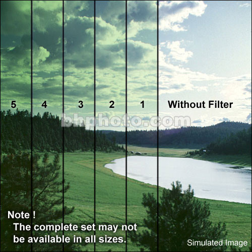 "Formatt Hitech 6.6 x 6.6"" Color Graduated Green 3 Filter"