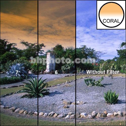 "Formatt Hitech 6.6 x 6.6"" Color Graduated Coral 7 Filter"