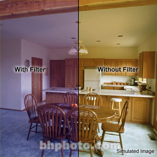"Formatt Hitech 6.6 x 6.6"" CC 50B Blue Color Compensating Filter"