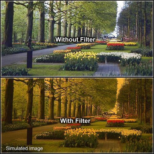 Formatt Hitech 72mm Solid Tangerine 3 Filter