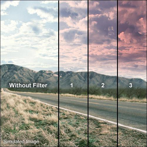 Formatt Hitech 77mm Graduated Tuscan Pink 3 Filter