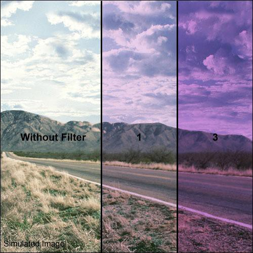 Formatt Hitech 86mm Solid Lavender 1 Filter
