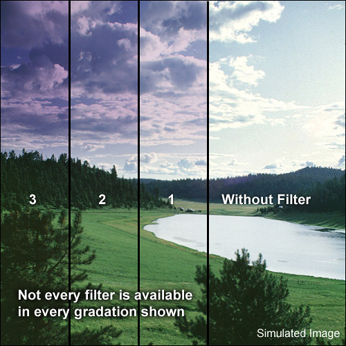 Formatt Hitech 95mm Blender Grape 1 Filter